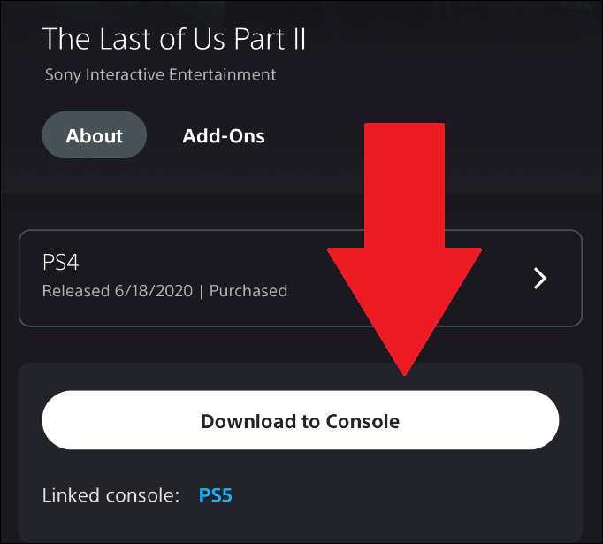 download ps5 games from phone