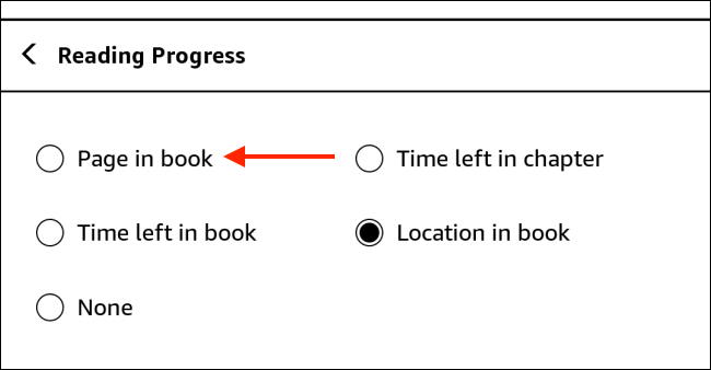 Tap Page in Book