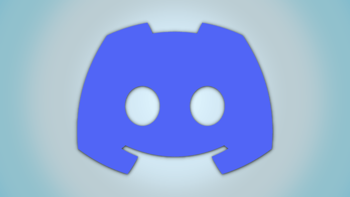Discord logo on a dual-tone color background.