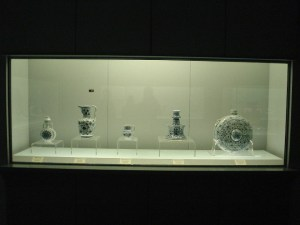 China porcelain at the Shanghai Museum