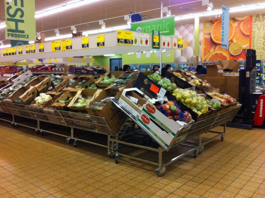 Obst und Gemüse - Aldi in Amerika