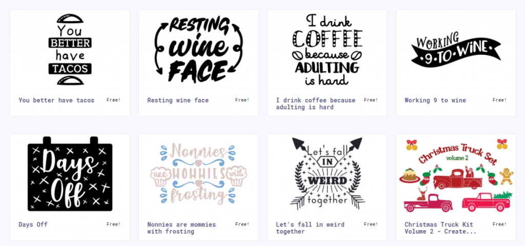 Download The Best Free SVG Files For Cricut & Silhouette - Free ...