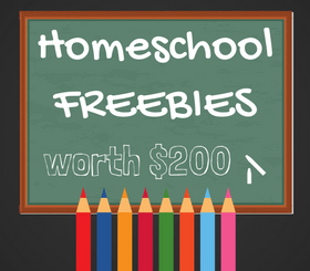 Over $200 worth of Homeschool Freebies
