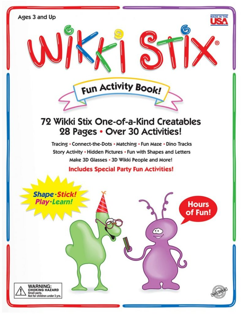 Wikki Stix activity book