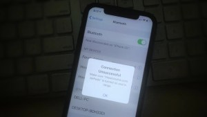 "iPhone XS Max Won't Pair or ""Connection unsuccessful"" Connect to The Bluetooth Accessory"