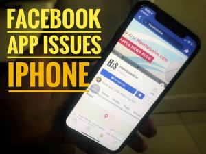 Facebook app won't load and keeps crashing, Freeze on iPhone XS Max/iPhone XS/iPhone XR