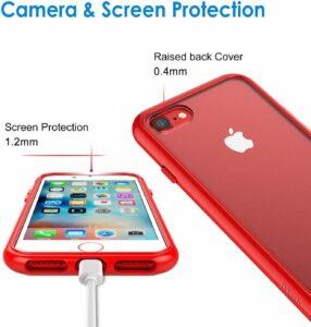 Чехол для телефона JETech для Apple iPhone SE 2-го поколения.