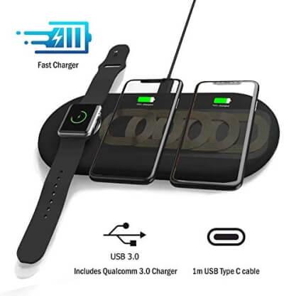 Lxory Беспроводная зарядка для телефона SE 2020