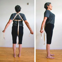 Some of the teaching methods for tadasana resemble colonial-era torture devices.