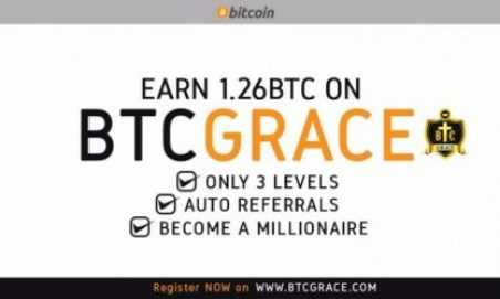 BtcGrace   Free Bitcoin of 1.26Bitcoin - Just Launched