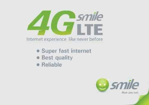 Smile 4G LTE APN Settings On ZTE, Spectranet 4G Devices