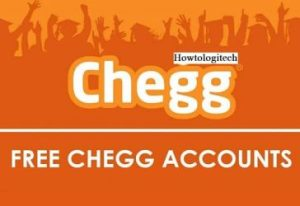 Chegg Login page - How to Login Chegg Account page