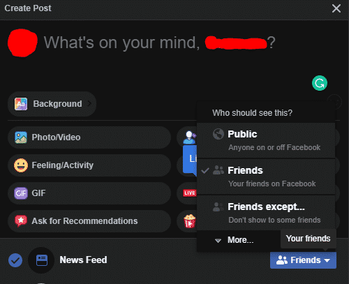 How to hide pictures on Facebook