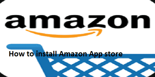 How to install Amazon app store