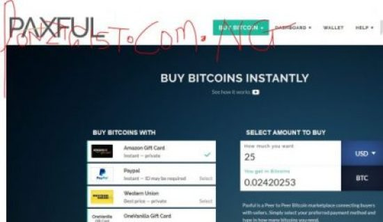 Buy Bitcoins in Nigeria Through Paxful
