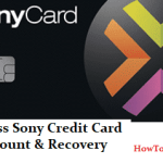 Sony Credit Card Log - Access Sony Credit Card Account