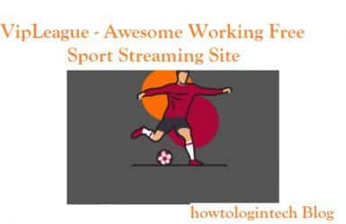 VipLeague - Awesome Working Free Sport Streaming Site