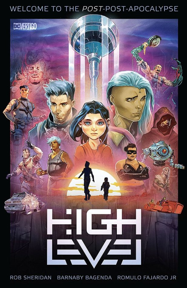 High Level TPB cover by Barnaby Bagenda.