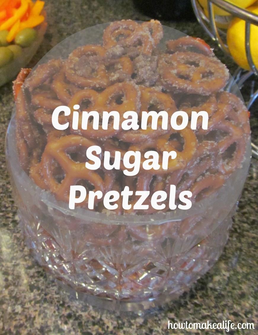 Cinnamon Sugar Pretzels Pix