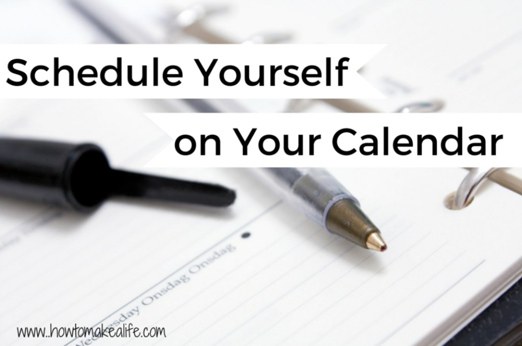 Schedule Yourself