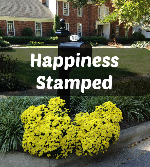 Happiness Stamped | 12 Months of Bliss Challenge