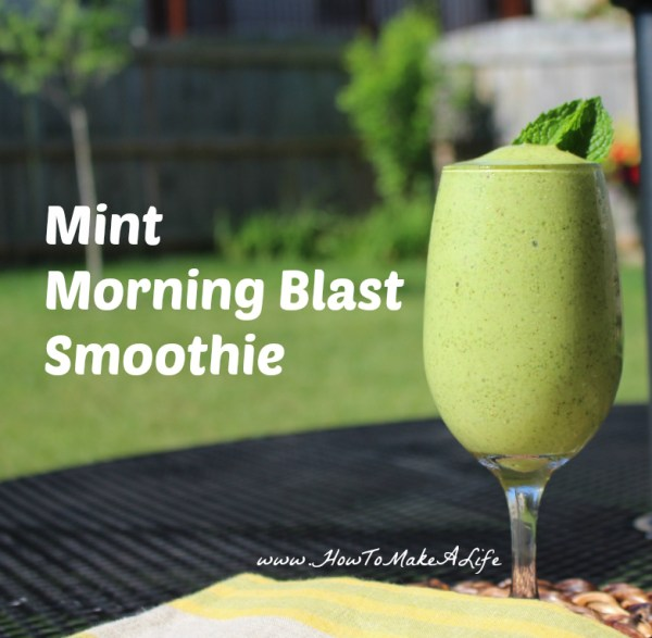 Mint Morning Blast Smoothie