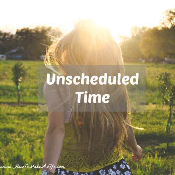 Unscheduled time 2