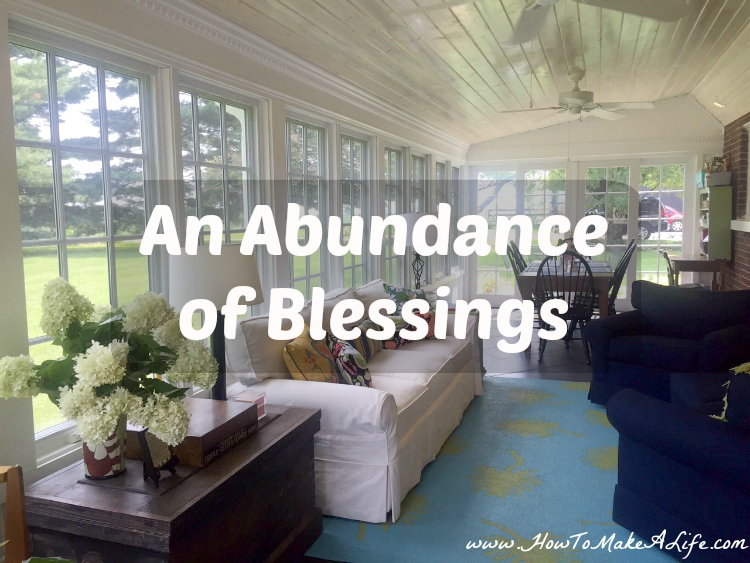 An Abundance of Blessings
