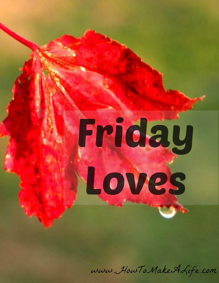 friday Loves - leaf