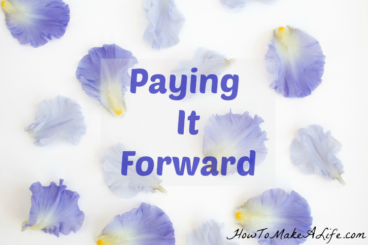 Paying It Forward : December Challenge of 12 Months of Bliss Challenge