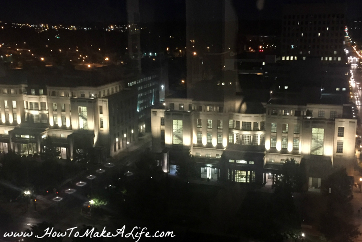 DownTown Lexington KY at night