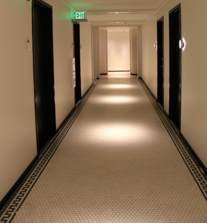 hallway 21c Museum Hotel Lexington ky