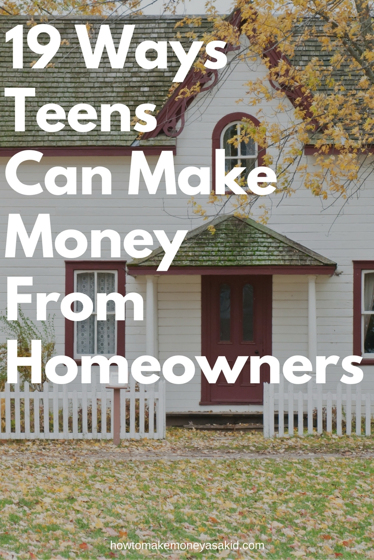 200+ BEST IDEAS For Making Money As A TEENAGER (2018 ...