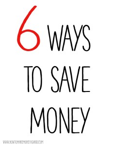 how to save money as a kid