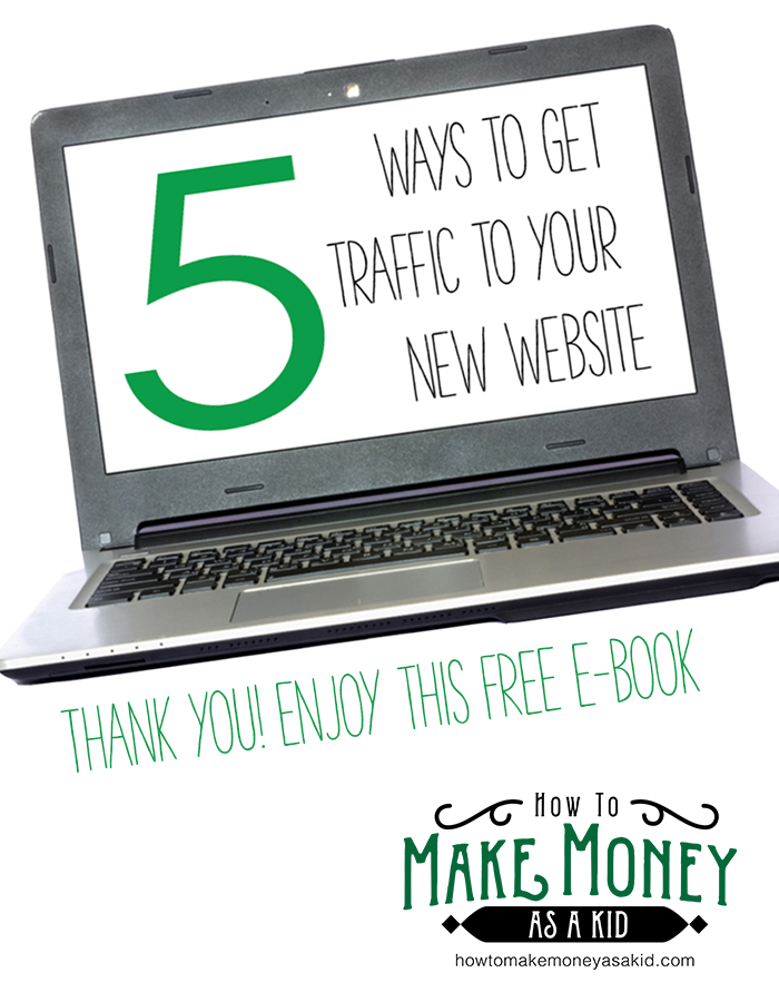 how to start a website and get traffic