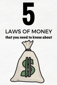 laws of money making