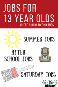 Summer Jobs for 13 Year Olds, Jobs that hire at 13, Places that hire at 13, can a 13 year old get a job, saturday jobs for 13 year olds, what jobs can a 13 year old get, jobs for 13 year olds that pay