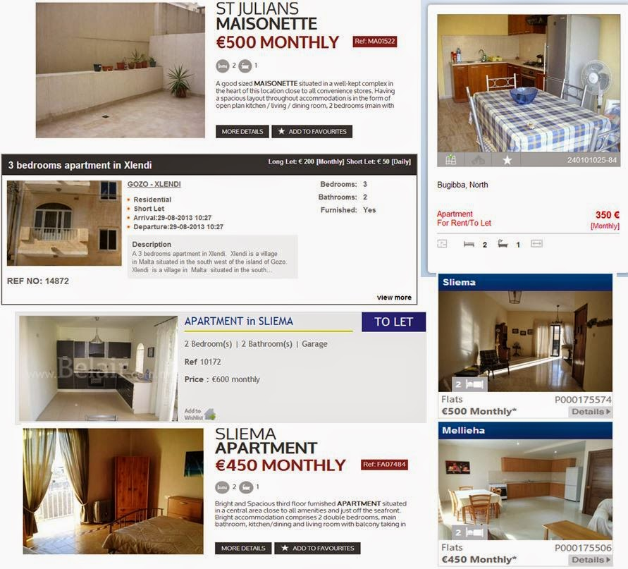 Rent Apartments And Flats In Malta