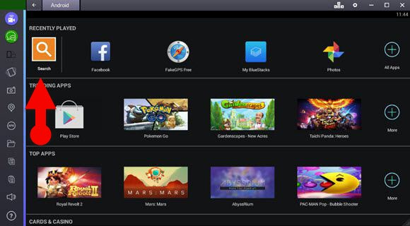 bluestacks_start_page_pc