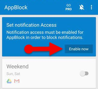 Enable_Notification_access of_AppBlock