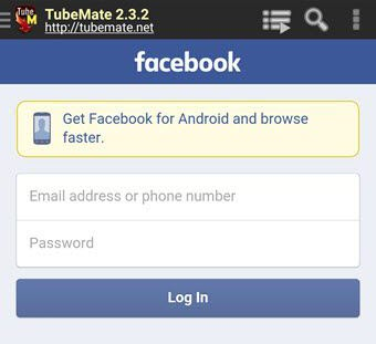 Log_Into_Facebook_with_TubeMate