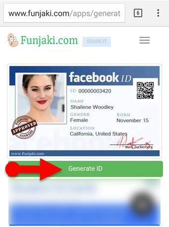 Make_Fake_Facebook_ID_Card_with_Mobile