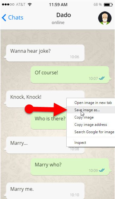Fake_WhatsApp_Conversation_From_PC