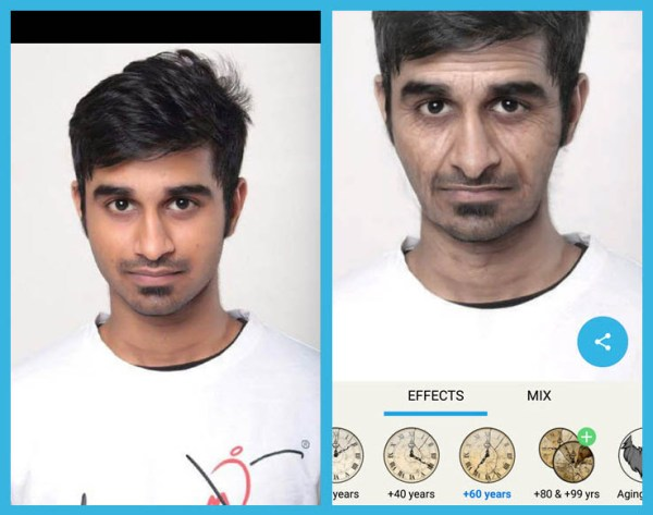 face aging app Android iPhone