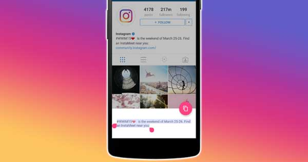 How To Copy Instagram Caption, Comments, and Bio on Android