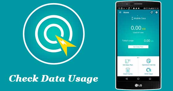 Check Data Usage for Android