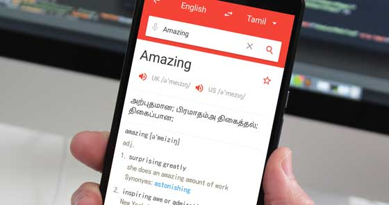 English To Tamil Dictionary App