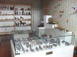 Toy soldiers in Museo del Juguete
