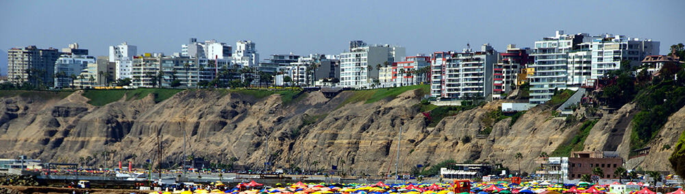 lima seafront