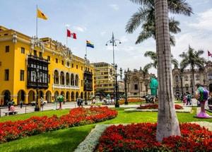 Learn Spanish in Peru - Central Plaza Lima